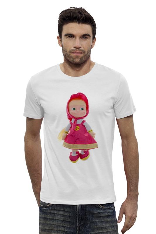 Футболка Wearcraft Premium Slim Fit Printio Кукла-девочка маша из мульта. смешная озорная.
