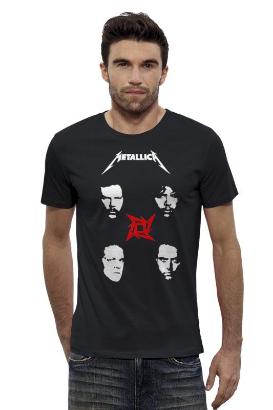Футболка Wearcraft Premium Slim Fit Printio Metallica футболка wearcraft premium slim fit printio fender usa