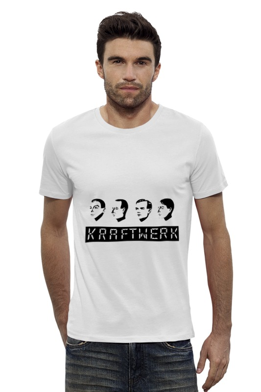 Футболка Wearcraft Premium Slim Fit Printio Kraftwerk kraftwerk – trans europe express lp