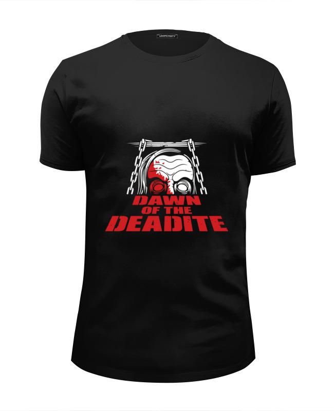 Футболка Wearcraft Premium Slim Fit Printio Рассвет мертвецов футболка рассвет