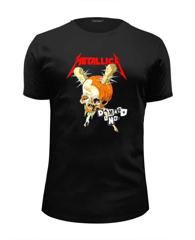 Фото - Футболка Wearcraft Premium Slim Fit Printio Metallica футболка wearcraft premium slim fit printio metallica kill em all
