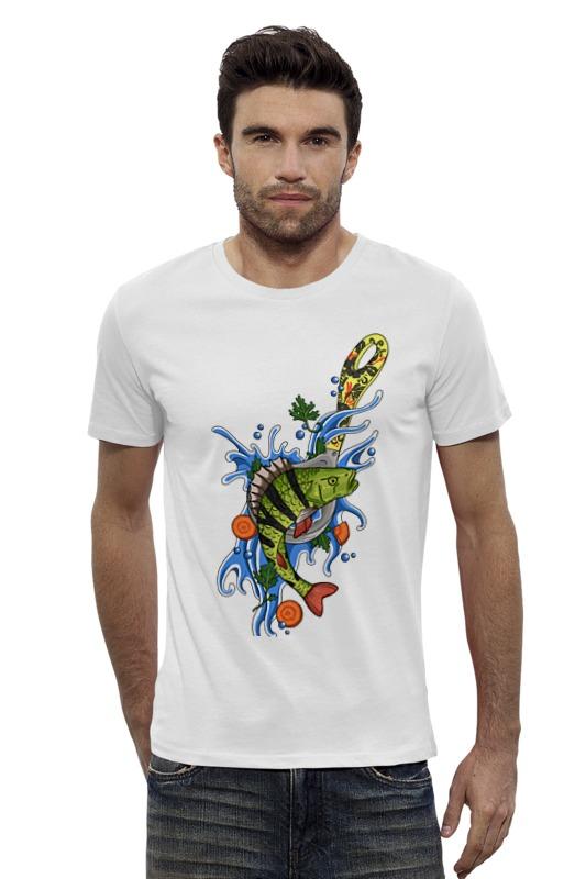 Футболка Wearcraft Premium Slim Fit Printio Окунь футболка wearcraft premium slim fit printio avengers