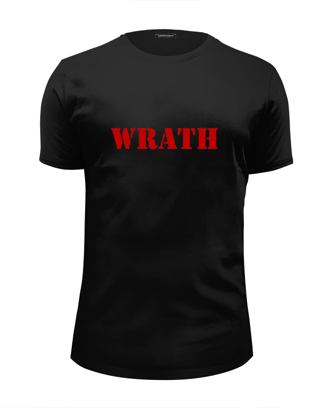 Футболка Wearcraft Premium Slim Fit Printio Wrath футболка wrath