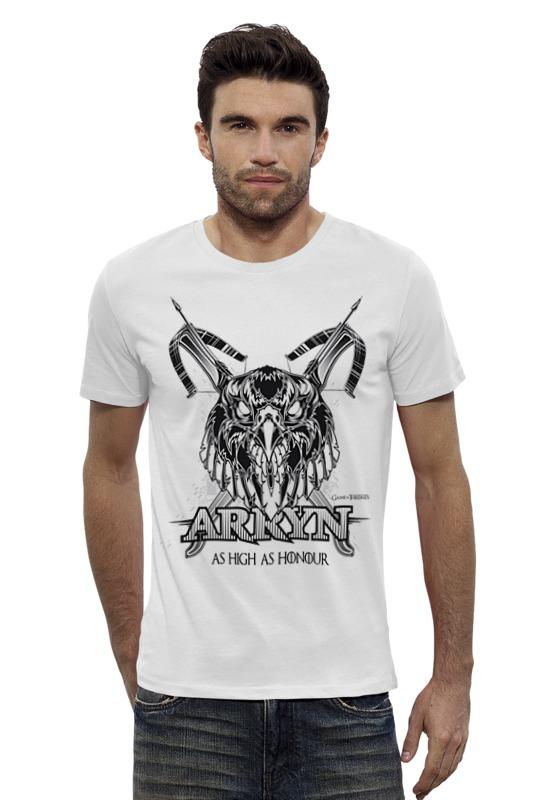Футболка Wearcraft Premium Slim Fit Printio Орел арренов (игра престолов) футболка wearcraft premium printio игра престолов