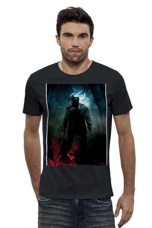 Футболка Wearcraft Premium Slim Fit Printio Джейсон футболка wearcraft premium slim fit printio vampire
