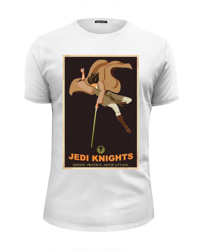 Футболка Wearcraft Premium Slim Fit Printio Jedi knights футболка wearcraft premium printio jedi knights