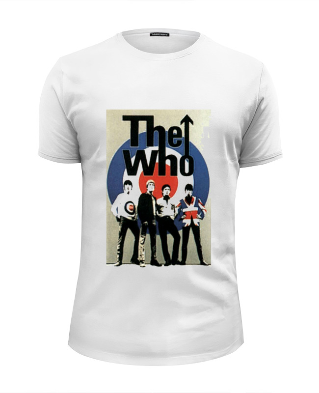 Printio The who футболка wearcraft premium slim fit printio who rules you