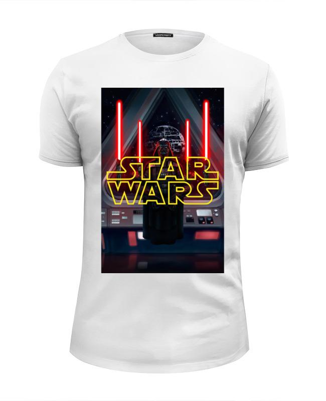Футболка Wearcraft Premium Slim Fit Printio Звёздные войны / star wars / дарт вейдер футболка wearcraft premium printio звёздные войны star wars дарт вейдер