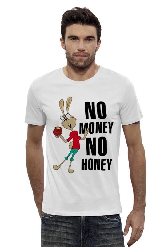 Футболка Wearcraft Premium Slim Fit Printio No money no honey футболка wearcraft premium slim fit printio нет проблем no prob llama