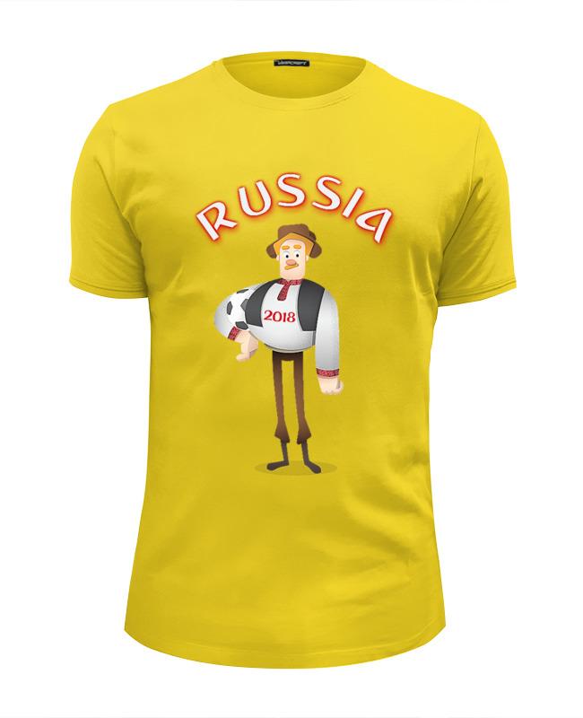 Футболка Wearcraft Premium Slim Fit Printio Russia футболка wearcraft premium slim fit printio russia rule типа стрэйч