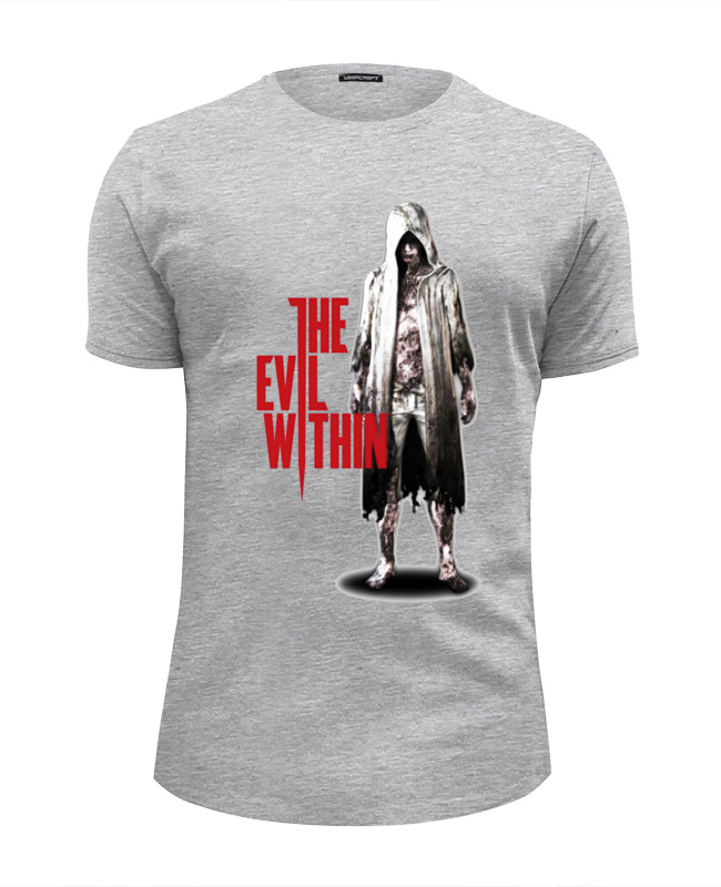 Футболка Wearcraft Premium Slim Fit Printio The evil within conrad j within the tides