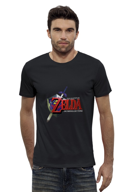 Футболка Wearcraft Premium Slim Fit Printio The legend of zelda