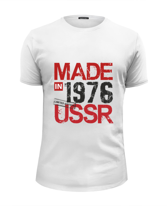 Printio 1976 год рождения футболка wearcraft premium slim fit printio 1979 год рождения