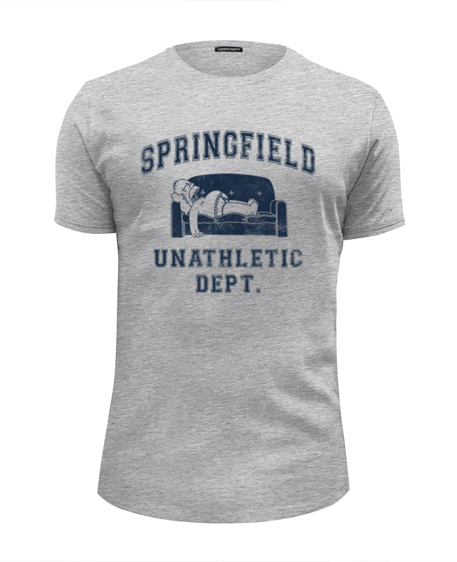 Футболка Wearcraft Premium Slim Fit Printio Springfield unathletic dept