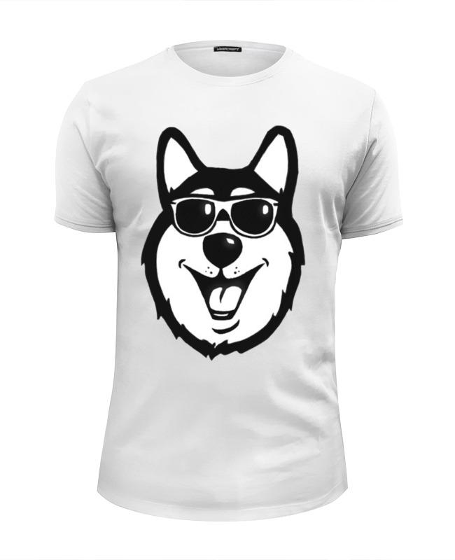 где купить Футболка Wearcraft Premium Slim Fit Printio Hell yeah dog black. (крутая собака. черная) по лучшей цене