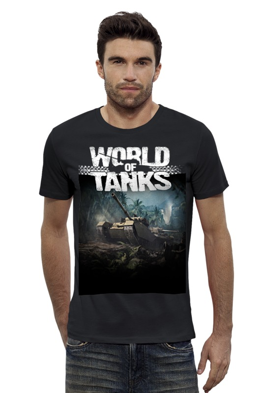 Футболка Wearcraft Premium Slim Fit Printio World of tanks сумка printio подарки
