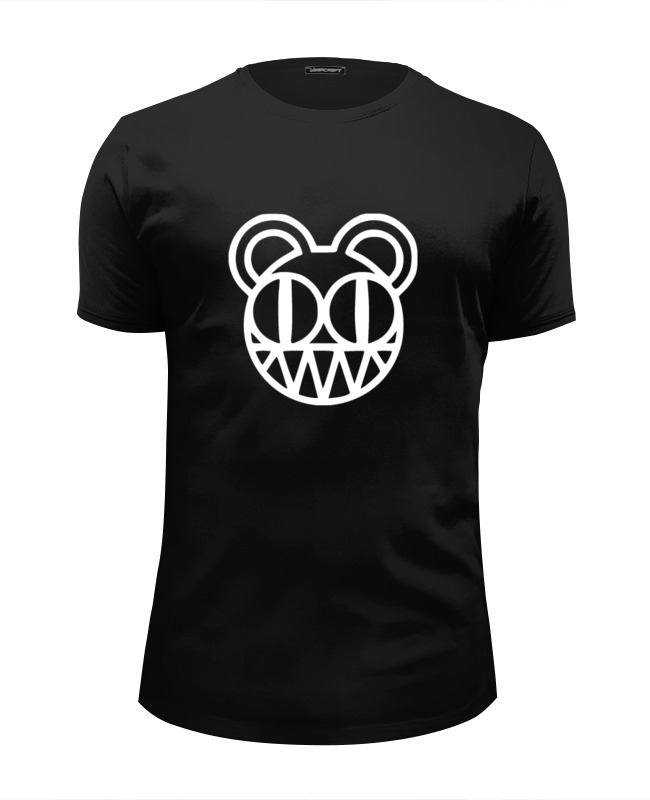 Футболка Wearcraft Premium Slim Fit Printio Radiohead t-shirt black майка классическая printio love for orlando