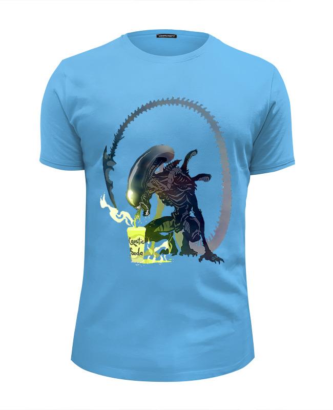 Футболка Wearcraft Premium Slim Fit Printio Alien drink футболка wearcraft premium printio androids drink