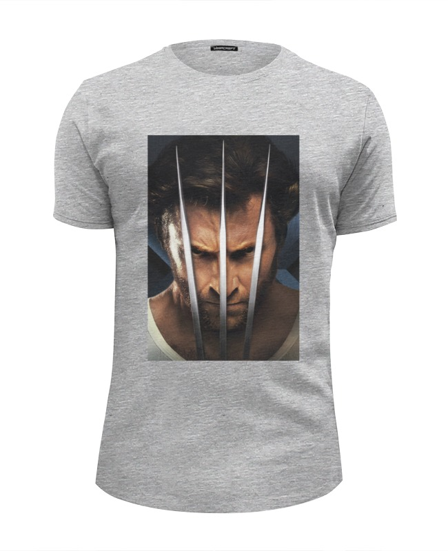 Футболка Wearcraft Premium Slim Fit Printio Люди икс / x men wolverine