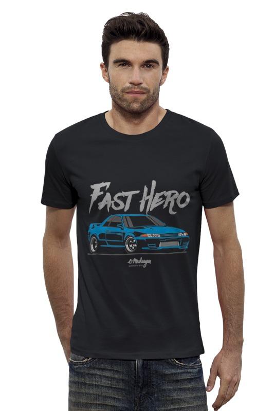 Футболка Wearcraft Premium Slim Fit Printio Nissan r32 футболка wearcraft premium slim fit printio nissan gtr r35