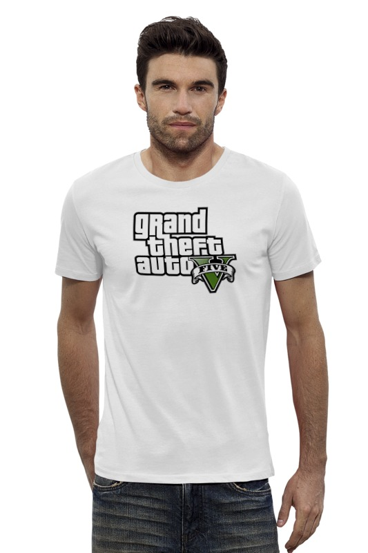 Футболка Wearcraft Premium Slim Fit Printio Grand theft auto 5