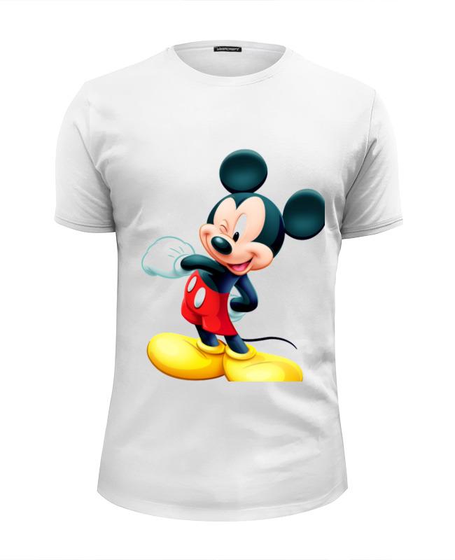 Футболка Wearcraft Premium Slim Fit Printio Микки маус футболка wearcraft premium printio микки маус штурмовик