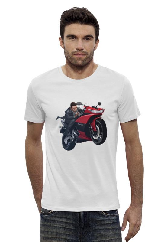 Футболка Wearcraft Premium Slim Fit Printio Гта футболка wearcraft premium slim fit printio gta 5 dog
