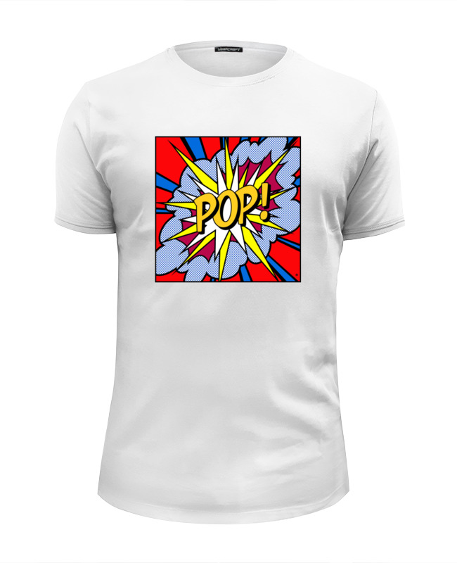 Футболка Wearcraft Premium Slim Fit Printio Pop art