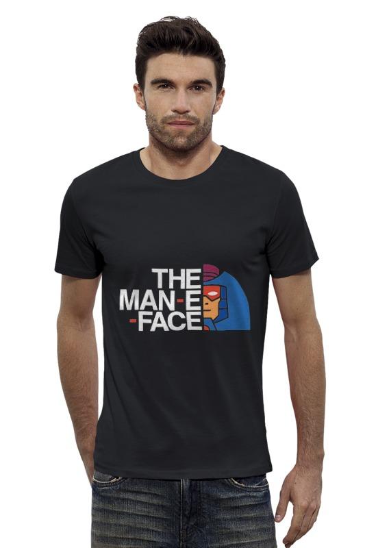 Футболка Wearcraft Premium Slim Fit Printio Man-e-faces (хи-мен) футболка wearcraft premium slim fit printio батрос хи мен
