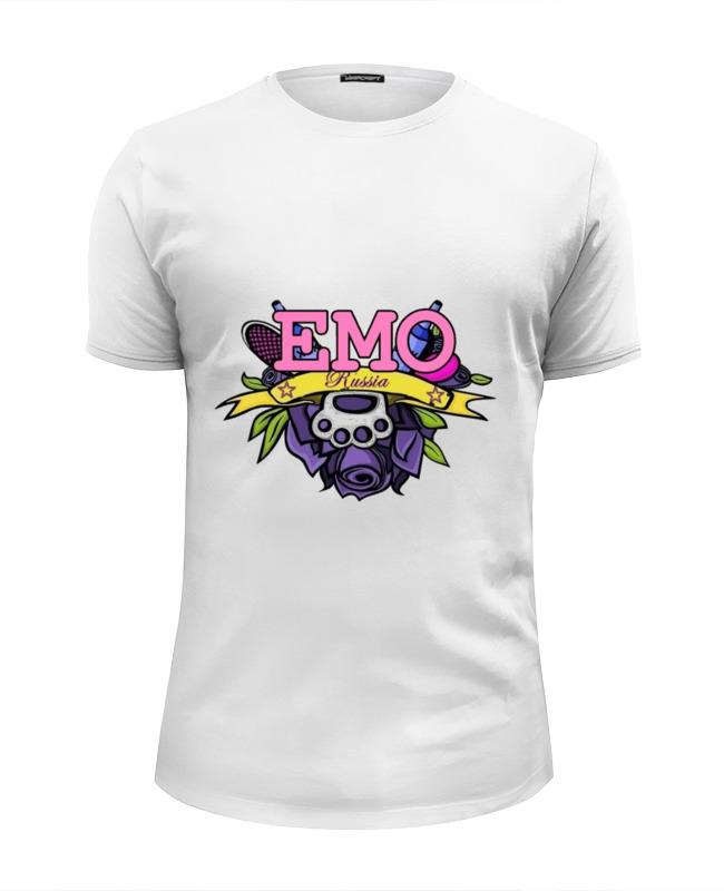 Футболка Wearcraft Premium Slim Fit Printio Emo №01 футболка wearcraft premium printio emo love e one