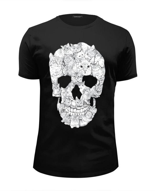 Футболка Wearcraft Premium Slim Fit Printio Cute like death футболка wearcraft premium slim fit printio cute like death