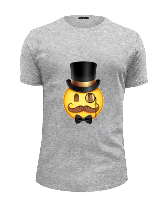 Футболка Wearcraft Premium Slim Fit Printio Смайл like a sir футболка wearcraft premium slim fit printio like a boss майнкрафт