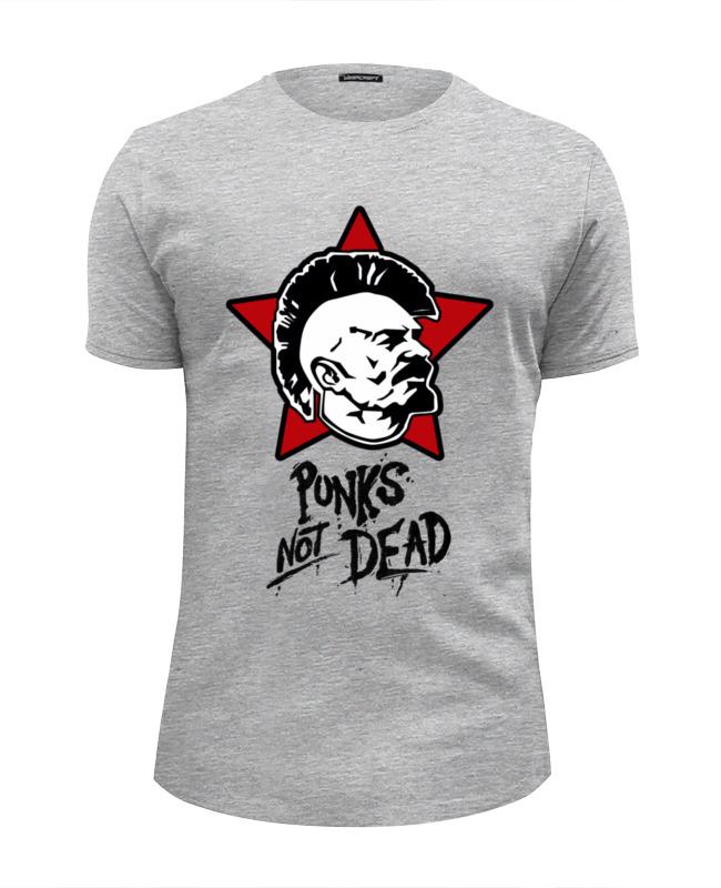 Футболка Wearcraft Premium Slim Fit Printio Ленин панк футболка wearcraft premium printio панк рок кафе