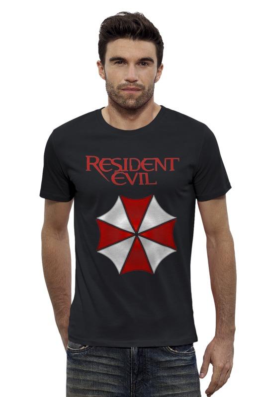 все цены на Футболка Wearcraft Premium Slim Fit Printio Resident evil онлайн