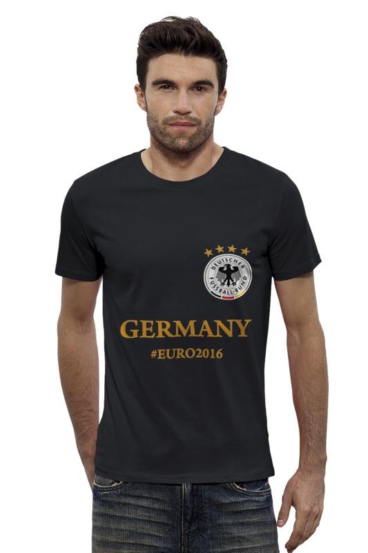 Футболка Wearcraft Premium Slim Fit Printio Сборная германии по футболу евро 2016 футболка wearcraft premium printio болеем за наших
