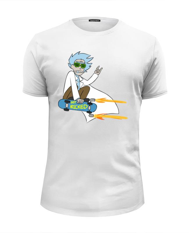 Футболка Wearcraft Premium Slim Fit Printio Get ricked футболка wearcraft premium printio rabbit cool mix крутой кроличий микс