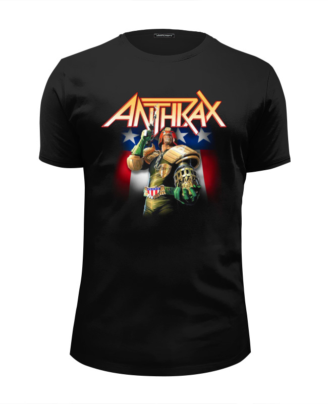 Футболка Wearcraft Premium Slim Fit Printio Anthrax band цена