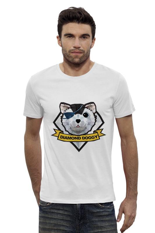Футболка Wearcraft Premium Slim Fit Printio Diamond dogs (metal gear solid)