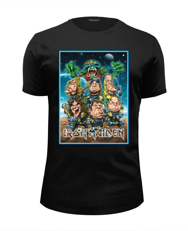Футболка Wearcraft Premium Slim Fit Printio Iron maiden band футболка wearcraft premium slim fit printio in quest band