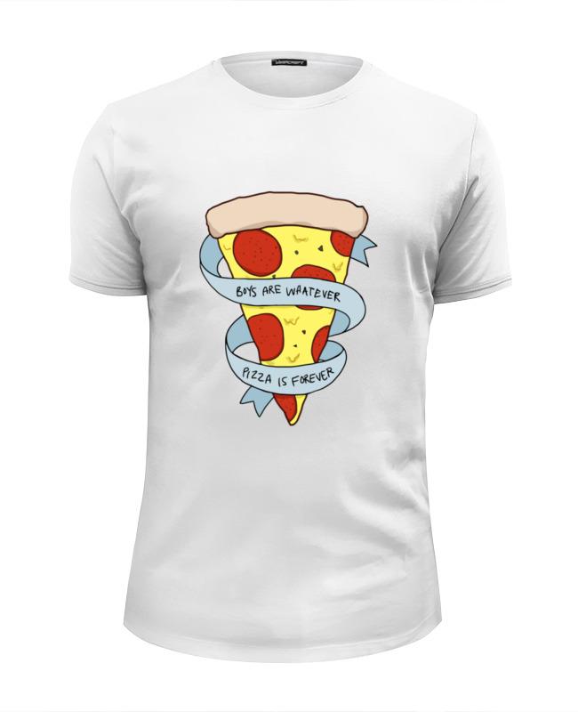 Футболка Wearcraft Premium Slim Fit Printio Пицца навсегда футболка классическая printio пицца навсегда