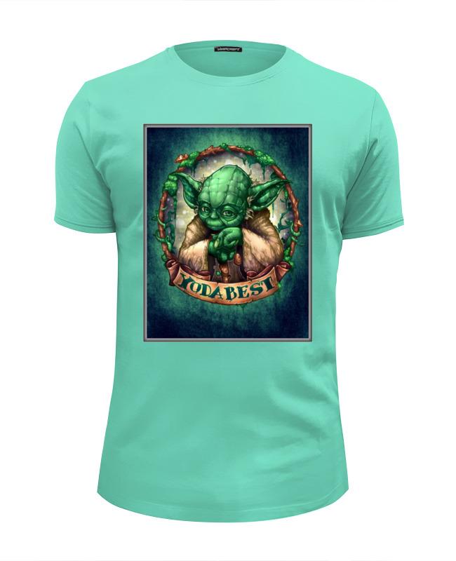 Футболка Wearcraft Premium Slim Fit Printio Yoda best футболка классическая printio yoda best