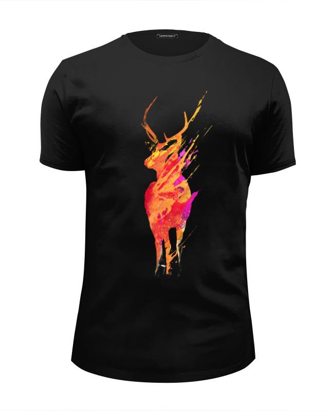 Printio Олень футболка wearcraft premium slim fit printio олень и космос