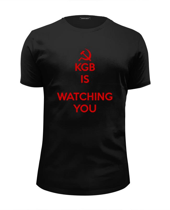 Футболка Wearcraft Premium Slim Fit Printio Kgb russia футболка wearcraft premium printio welcome to russia
