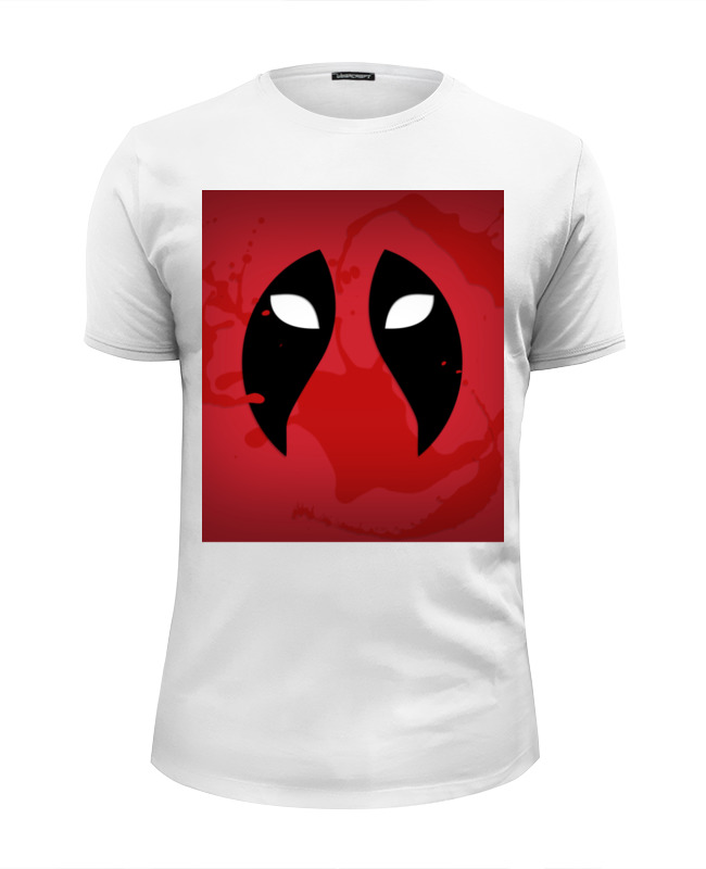 Футболка Wearcraft Premium Slim Fit Printio Дэдпул (deadpool)