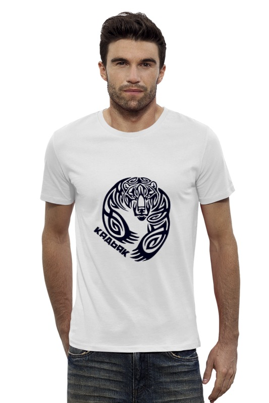 Футболка Wearcraft Premium Slim Fit Printio Кадьяк футболка wearcraft premium slim fit printio avengers