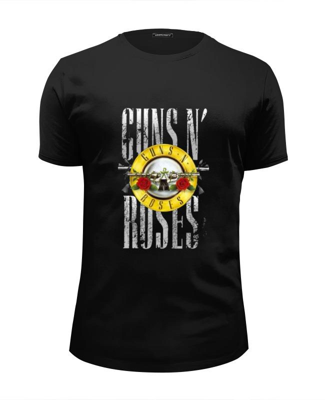 Футболка Wearcraft Premium Slim Fit Printio Guns'n'roses t-shirt женская футболка brand new t slim fit 3 sv007962