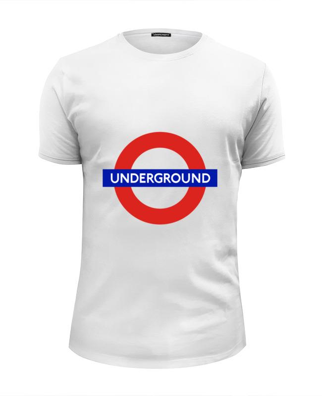 Футболка Wearcraft Premium Slim Fit Printio Underground сумка printio underground