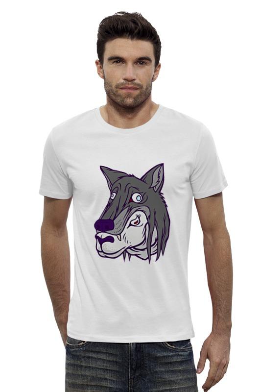 Футболка Wearcraft Premium Slim Fit Printio Овца в вольчей шкуре футболка wearcraft premium slim fit printio кит в банке