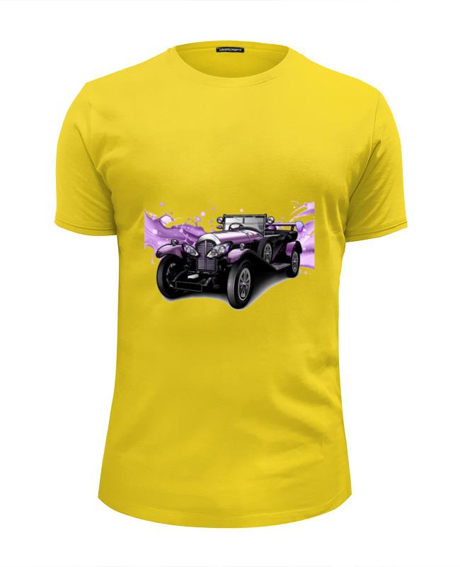 Футболка Wearcraft Premium Slim Fit Printio Ретро авто футболка авто opel