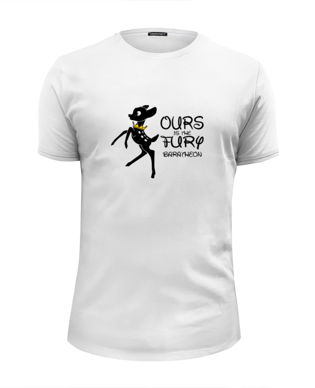 Футболка Wearcraft Premium Slim Fit Printio Нам ярость (our is the fury) футболка wearcraft premium printio нам ярость our is the fury
